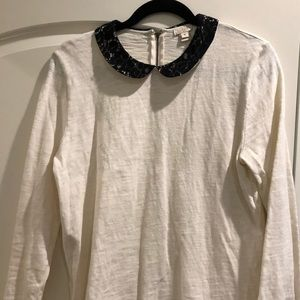 J. Crew Peter Pan Collar Shirt